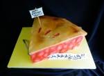 Cherry Pie Slice Cake
