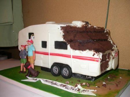 dog eats cake