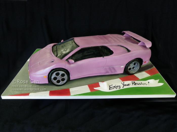 Lamborghini Diablo Se30 Car Cake Cakestories Ca
