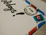 Holiday Christmas Gift Box Cake