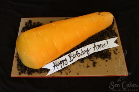 3D Carrot Cake