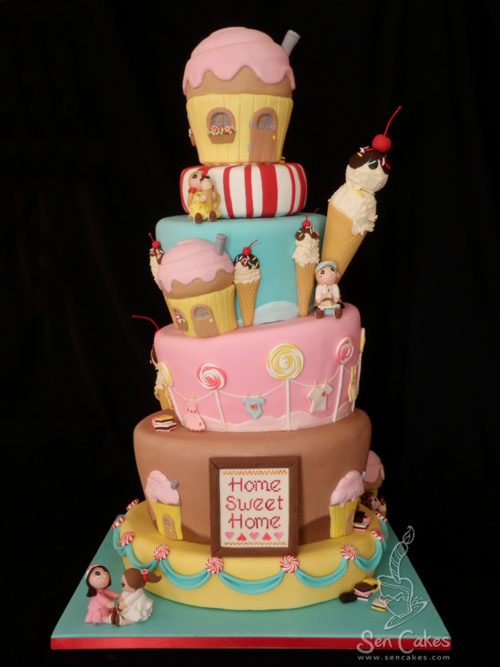 Candyland Cake Cakestories Ca