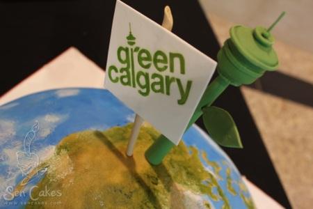 Calgary Tower Cake
