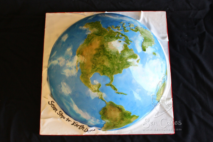 Globe cakestories happy earth day earth cake gumiabroncs Images