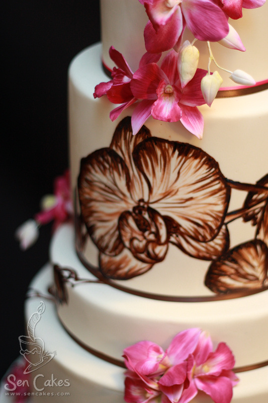 Sherieka S Blog This Wedding Cake Just Uses Artificial