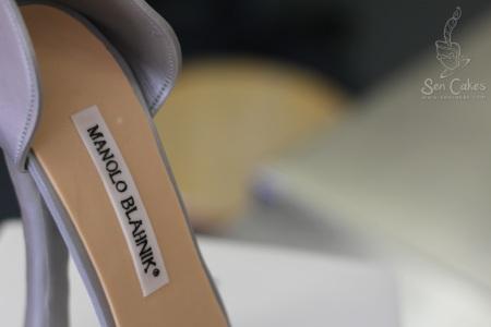 Manolo Blahnik Gumpaste Shoe