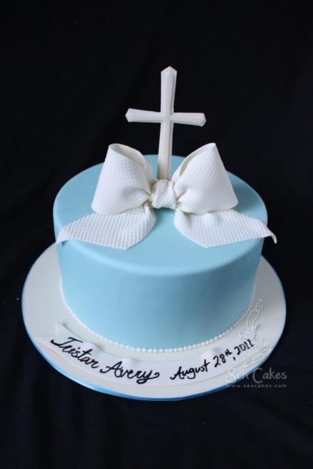Baptism Cake