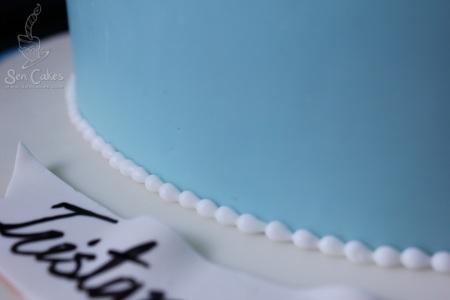 Beaded Cake Border