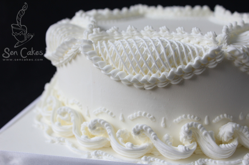 Modern Cake Decoration With Royal Icing : Royal Icing Victorian Style Cake CakeStories.ca