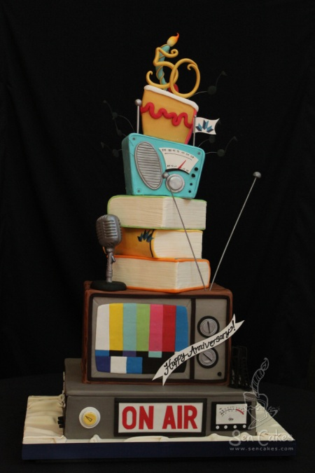 Mount Royal Broadcasting Cake