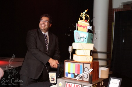 Mayor Nenshi Cake Cutting