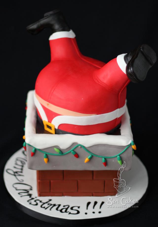 Christmas Cake   CakeStories.