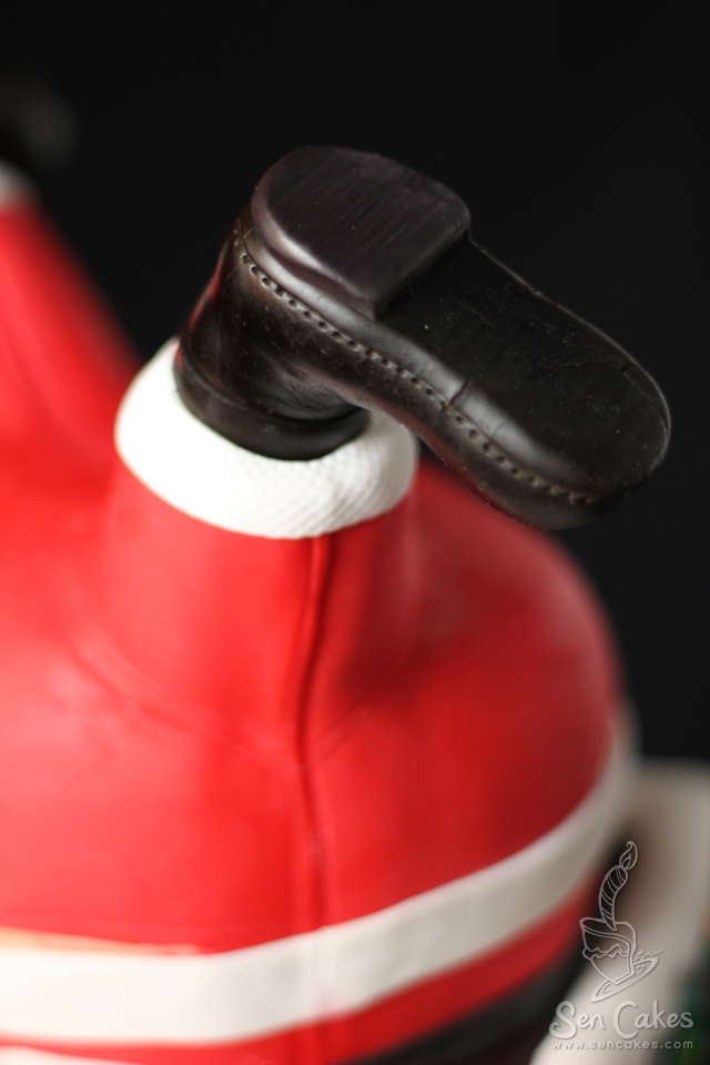 Gumpaste Boot