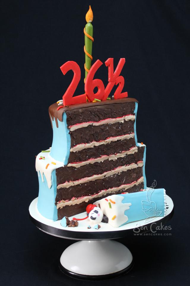 Half Birthday Cake Cakestories