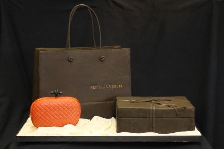 Designer Purse Cake Bottega Veneta
