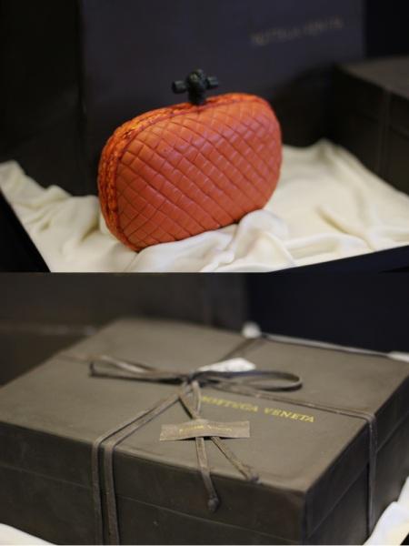 Bottega Veneta Cake Knotted Clutch