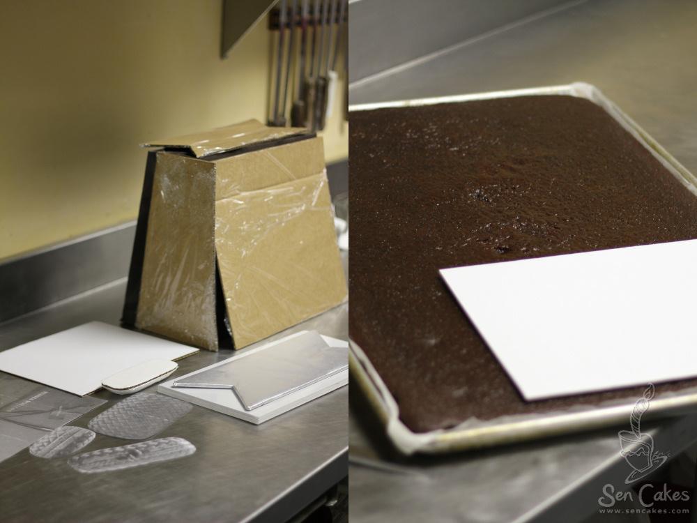 Designer Handbag Cake Template