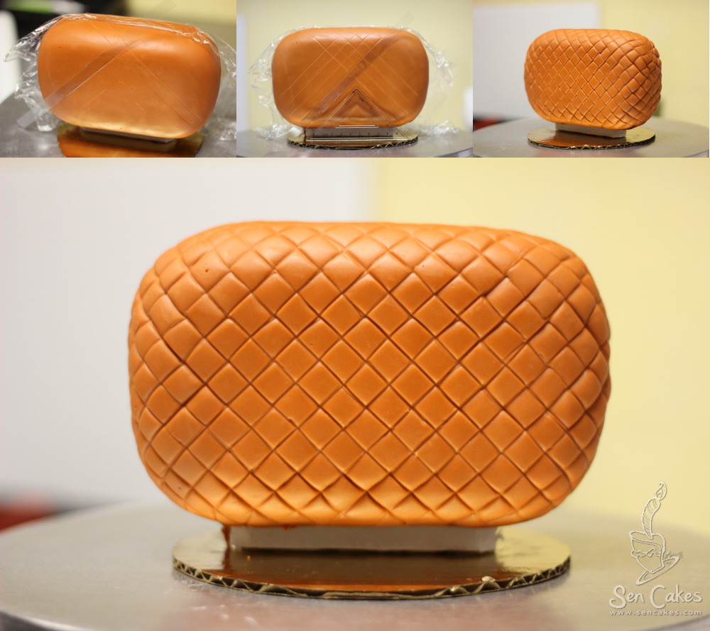 How To Make A Fondant Lid For Cake