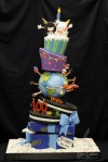 Rose Sen Oreo 100th Birthday Cake