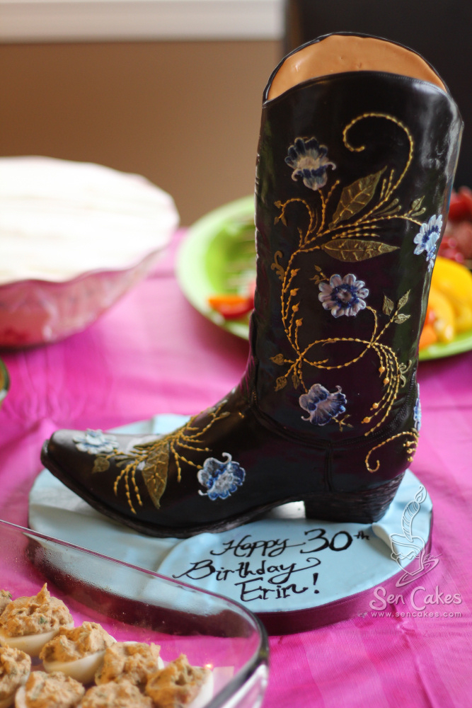 Cowboy Boot Cakestories Ca