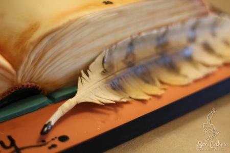 Gumpaste Feather