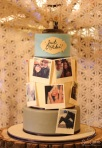 Edible Photograph Wedding Cake