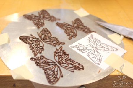 2. Chocolate Butterflies