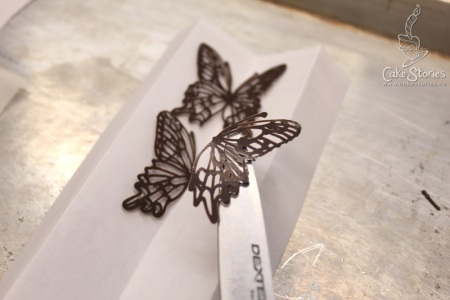 3. Chocolate Butterfly