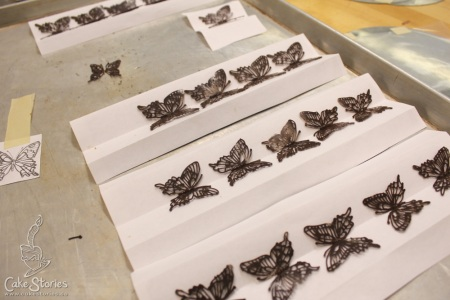 5. Lace Chocolate Butterflies