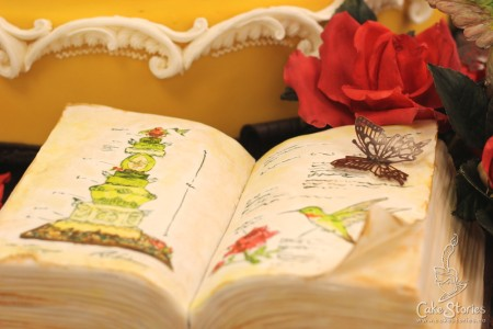 05c. Book Cake