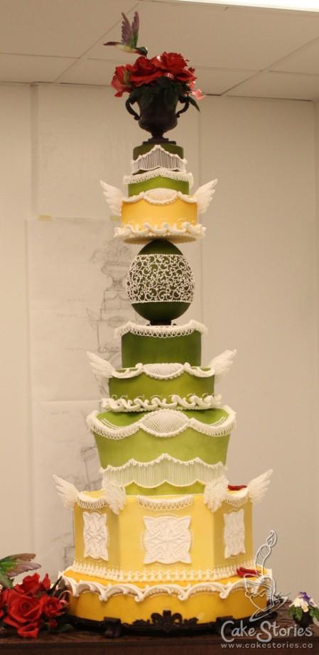09. Rose Warden Cake